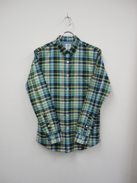 SH02 MADRAS CHECK L SHIRTS GRN.JPG