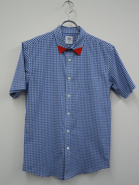 SH28 GINGHAM CHECK S SHIRTS BLU.JPG